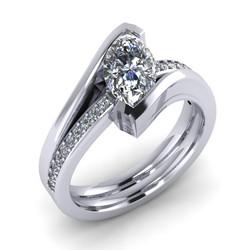 Marquise Diamond Engagement/Wedding