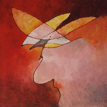 Blume Hidden Art Kunst abstrakte Malerei