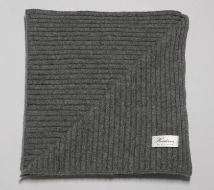Soft rib scarf