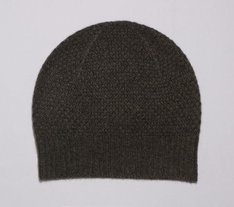 Pearl-knit beanie
