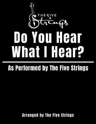 """Do You Hear What I Hear?"" Sheet Music"