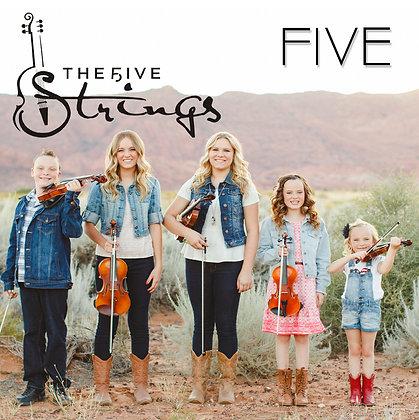 """""""FIVE"""" Album Autographed & Personalized"""