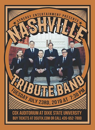 Nashville Tribute Band at Cox Auditorium