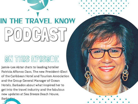 'In the Travel Know' with Patricia Affonso Dass