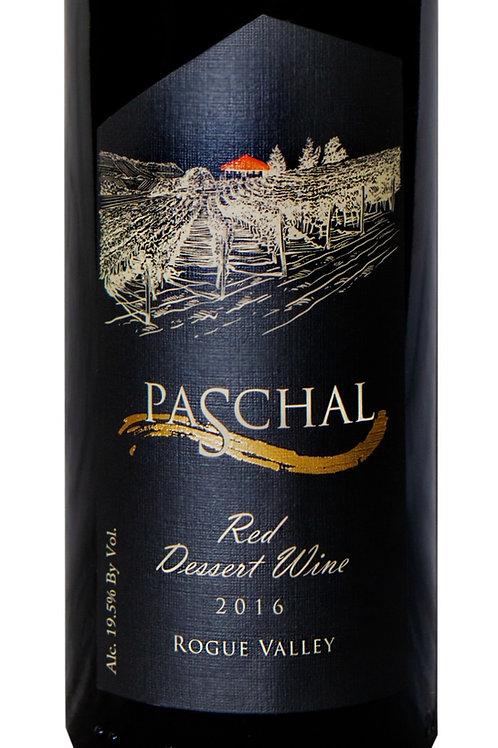2016 Port Style Red Dessert Wine