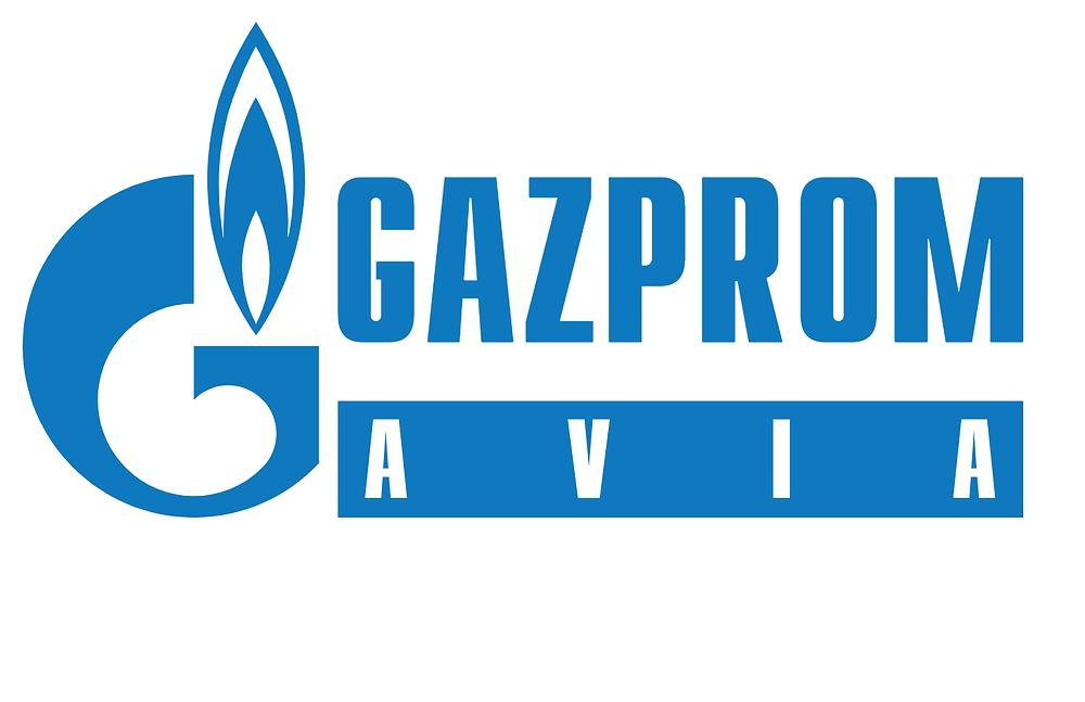 شعار شركة غازبروم الروسية