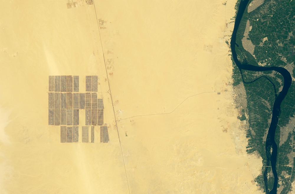 محطة بنبان للطاقة الشمسية في مصر