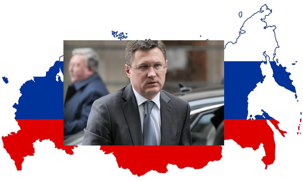 وزير النفط الروسي ألكسندر نوفاك