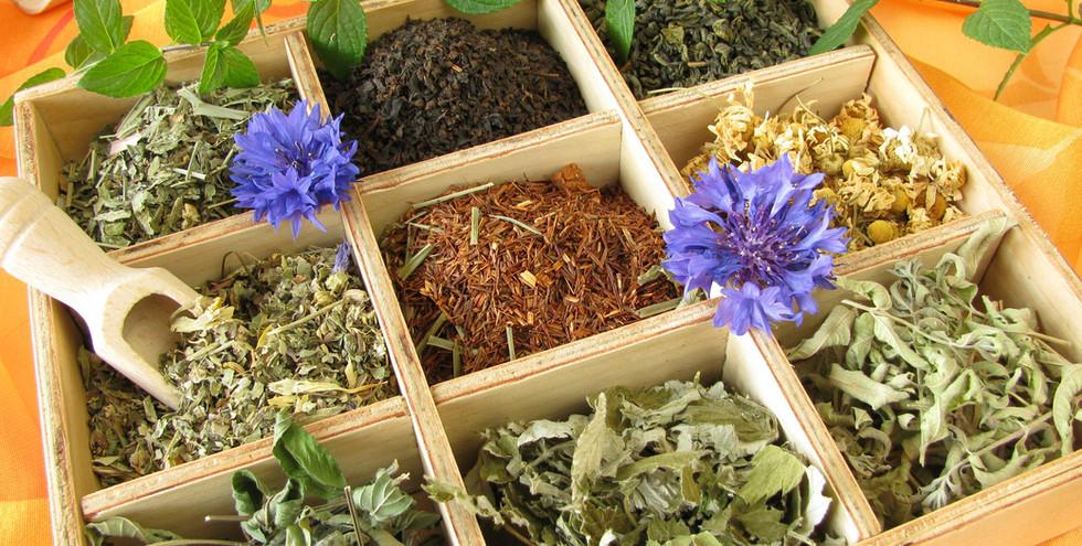 Loose herbs in box.JPG