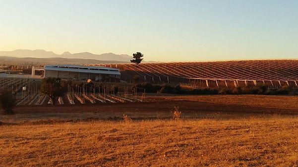 Autom sunrise over our farm