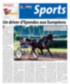 La région article course de chevaux - championnat d'europe 2016
