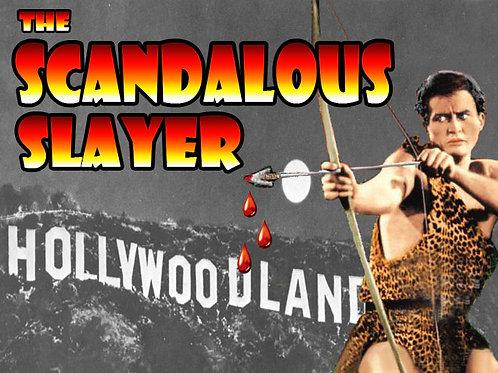Scandelous Slayer Murder Mystery Party Box Set