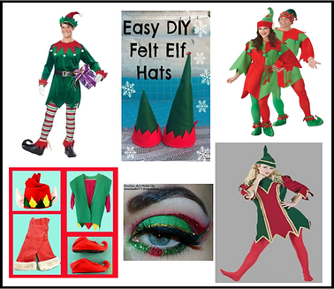 Murder Mystery Dinner Party Elf Costumes
