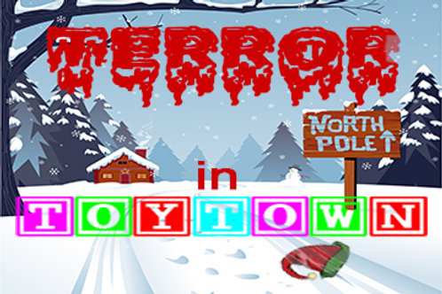 Terror In Toytown Murder Mystery Party Box Set