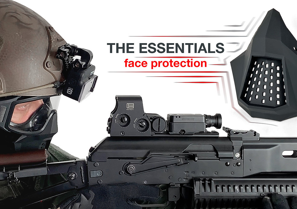 The Essentials Face Protection [Back Order]
