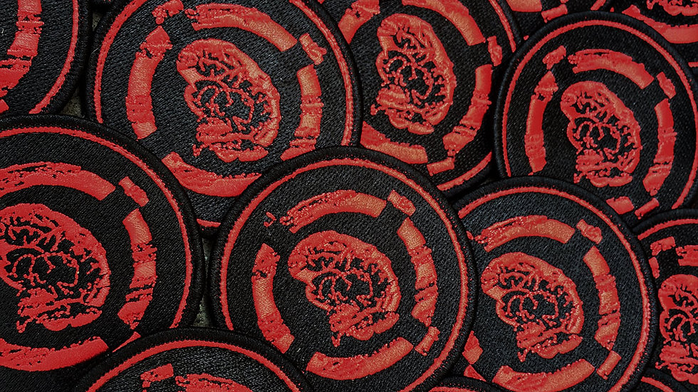 "3"" Red and Black BrainExploder Patch"