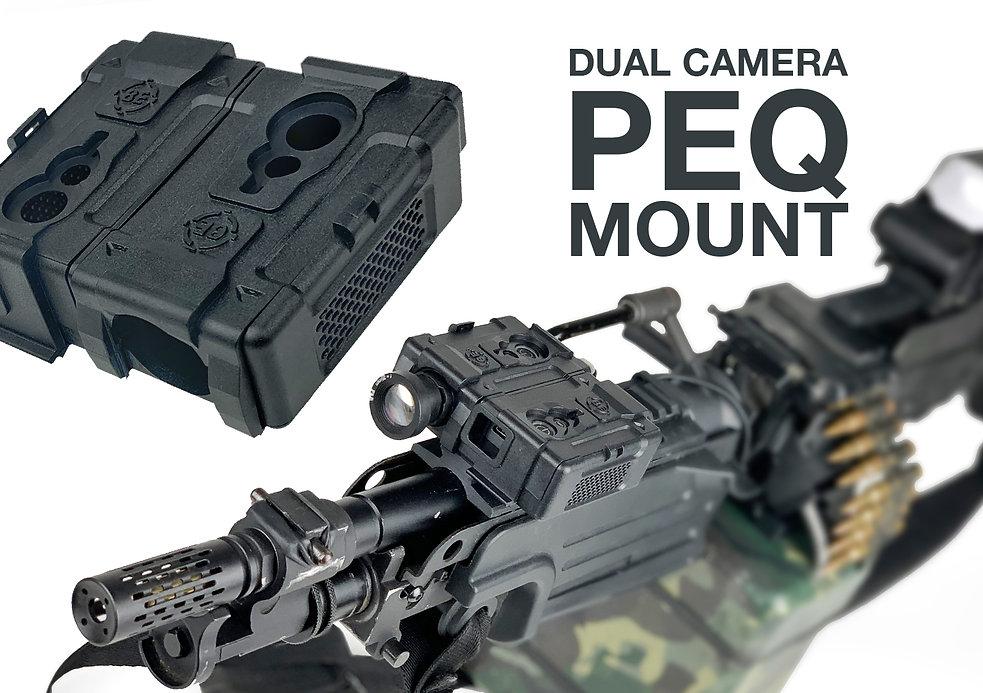RunCam2 PEQ Style Dual Camera Mount