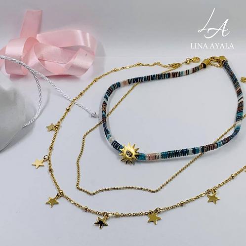 Conjunto Multicadena Estrellas