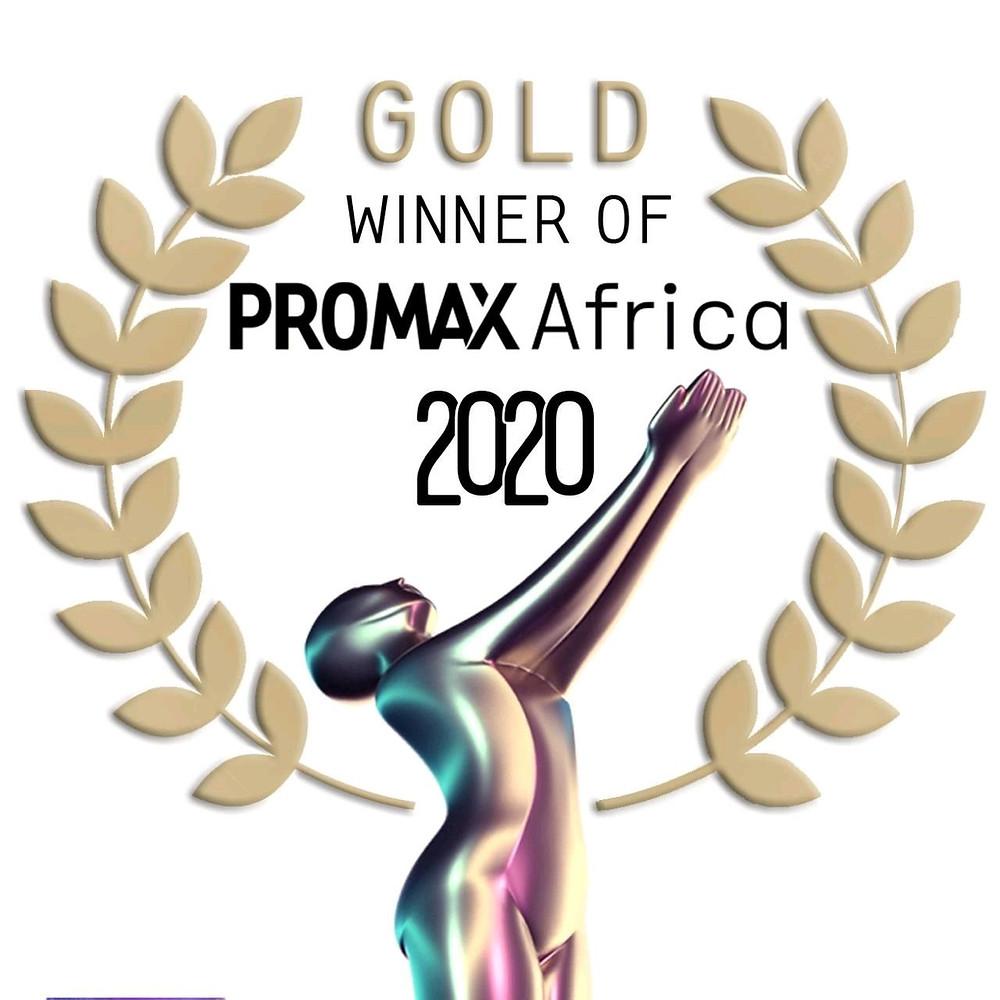 Digital Gold Winner   Promax Africa