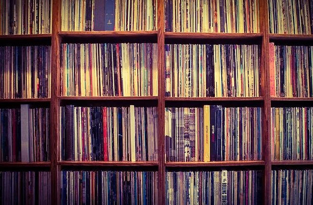Vinyl Record Album Collection and Library