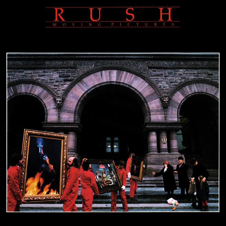 """Rush """"Moving Pictures"""""""