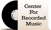 Center For Recorded Music Logo