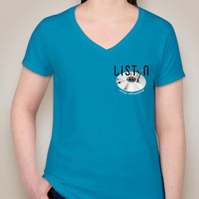 """ListynKC """"Founding Listyner"""" T-shirt - Women's"""