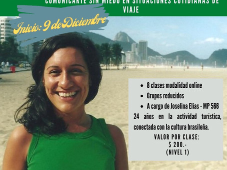 Curso de verano: Portugués para viajeros