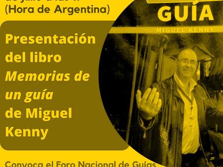 """Revive la presentación del libro """"Memorias de un guía"""""""
