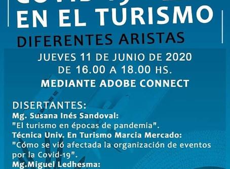 Ciclo de conferencias: Impactos del Covid-19 en el turismo, diferentes aristas