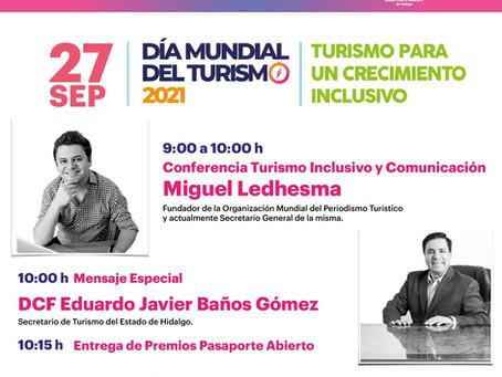 Hidalgo te invita: Turismo Inclusivo y Comunicación