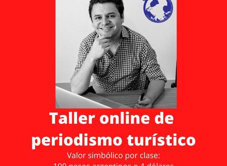 Nuevo taller online de periodismo turístico