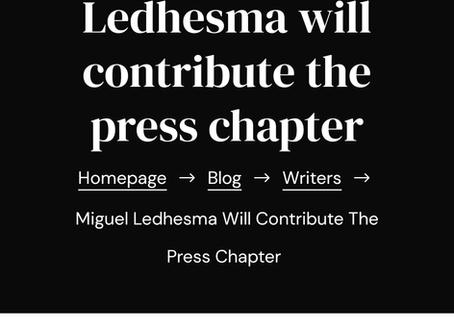 """Miguel Ledhesma publica """"Presente y futuro del periodismo"""""""