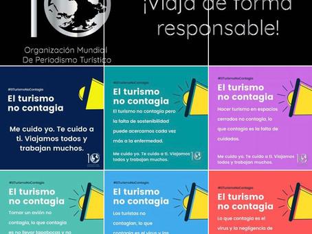"""Gran impacto de la campaña """"El turismo no contagia"""""""