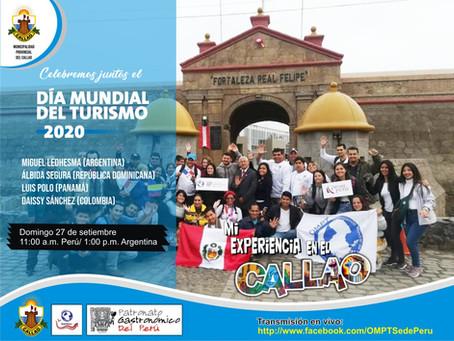 La OMPT celebra el Día Mundial del Turismo en el Callao, Perú