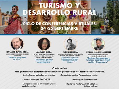 Turismo y desarrollo rural: conferencias gratuitas por la Universidad de Querétaro
