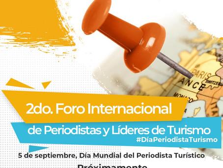 Evento online y gratuito: 2do Foro Internacional de Periodistas y Líderes de Turismo