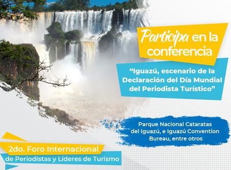 Programa de conferencias 2do Foro Internacional de Periodistas y Líderes de Turismo