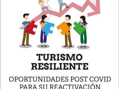 Nuevo libro gratuito. Turismo resiliente: oportunidades post Covid para su reactivación