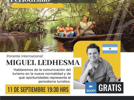 Actividad gratuita: fortalecimiento del turismo a través del periodismo