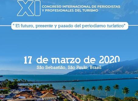 Programa de conferências do 11 ° Congresso Internacional de Periodistas e Profissionais do Turismo