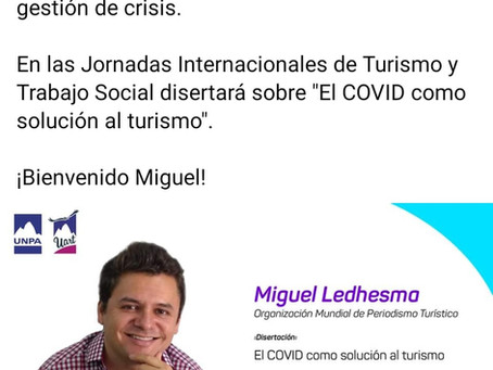 Conferencia: El Covid como solución al turismo