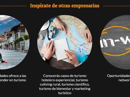 """Llega el evento iberoamericano """"TurisMUJERES: emprendedoras sin fronteras"""""""