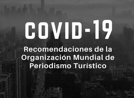 Covid-19 y turismo: Recomendaciones de La Organización Mundial de Periodismo Turístico