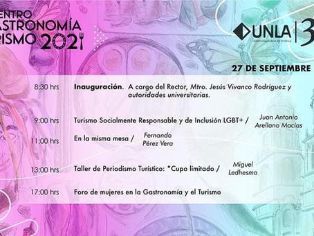 1° Encuentro de Gastronomía y Turismo UNLA 2021