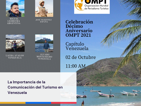 Inscripciones abiertas: La importancia de la comunicación del turismo en Venezuela
