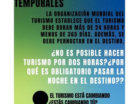 El turismo está cambiando y ¿qué sucede con los límites temporales?