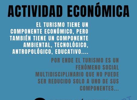 El turismo no es una actividad económica: Campaña el turismo está cambiando...