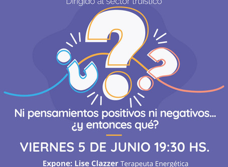 Webinar gratuito: Ni pensamientos positivos ni negativos ¿Entonces qué?