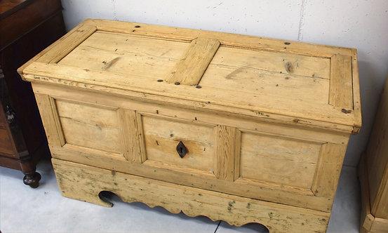 Cassapanca in legno di abete